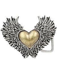 CENO Hebilla de cinturón - para mujer Altsilber/Gold Talla única