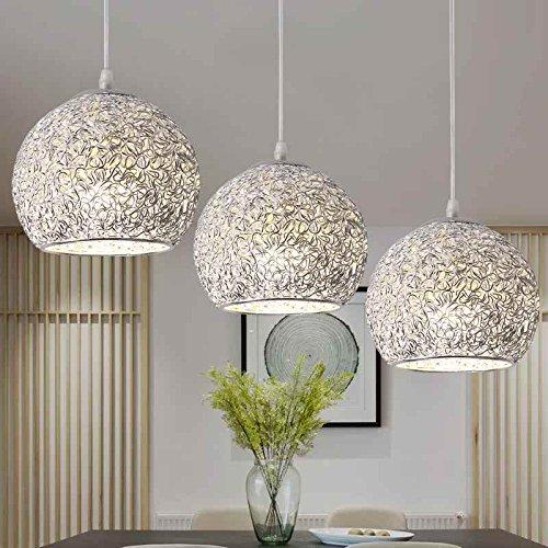 Esszimmer Deckenleuchten (Zhhlinyuan LED Pendelleuchte Hängelampe Pendellampe Hängeleuchte Deckenleuchte höhenverstellbar für Esszimmer Wohnzimmer Restaurant (ohne Bulb))