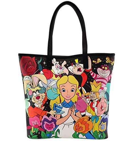 Loungefly x Disney Alice and Queen of Hearts Tote