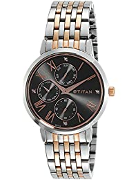 Titan Neo Analog Grey Dial Women's Watch-2569KM03