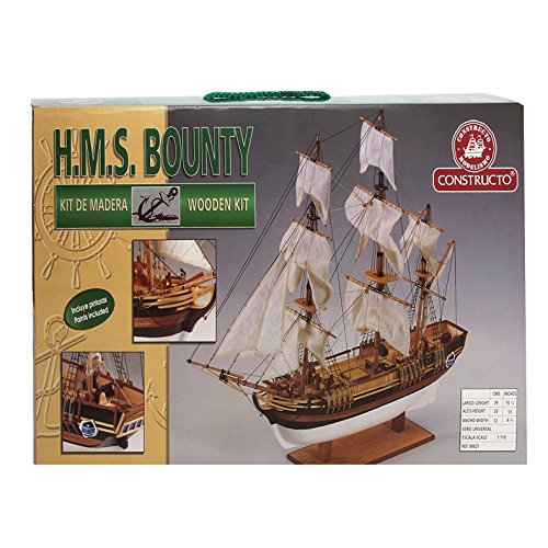 Constructo D80817 - Holzbausatz H.M.S. Bounty