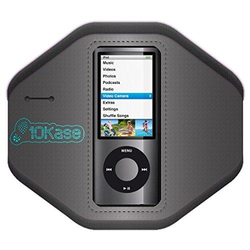 Der Nano Verwendet 5. Der Generation Ipod (10Kase Armband für iPod Nano 1. (1G), 2. (2G), 4. (4G) und 5. (5G) Generation (Groß (Armgröße 30-40cm)))