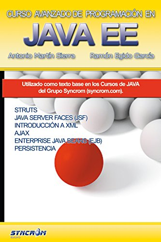 Curso Avanzado de Programación en Java EE: Struts, JSF, Ajax, EJB, JPA por Ramón Egido García