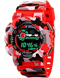 GLOSBY Mens Analog Round Dial Watch For Mens And Boys
