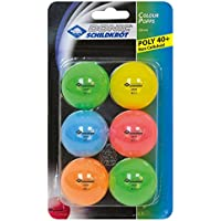 Donic-Schildkroet Colour Pops Table Tennis Balls 40mm (Pack Of 6)