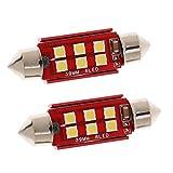 Baoblaze Birnen Lampen weiß Effekt Schlummerlicht Innenbeleuchtung Tür-Deckenleuchte - rot - 39mm