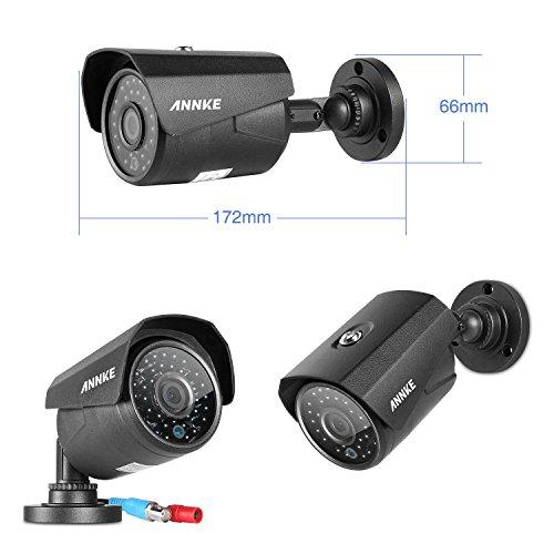 SANNCE-Home-CCTV-DVR-Sistema-de-videovigilancia-para-exterior-con-visin-nocturna-8-canales-grabacin-Full-960H-salida-HDMI-4-cmaras-800TVL-de-alta-resolucin-funcin-P2P-escner-de-cdigos-QR-por-smartphon