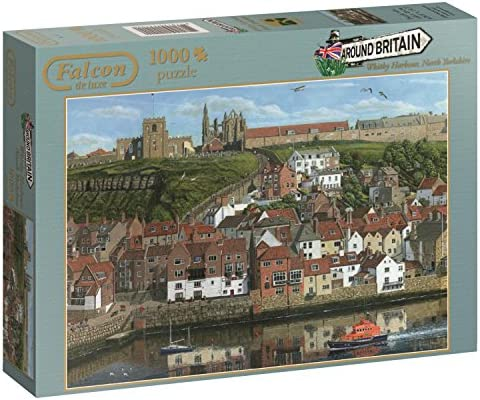 JUMBO - 611142 - - - Puzzle - Falcon - Whitby Harbour - 1000 Pièces   Soyez Bienvenus En Cours D'utilisation  caf049