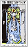 Rider Waite Tarot Deck: Mini by Professor Arthur Edward Waite (Creator) (2-Dec-1993) Cards