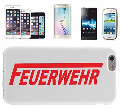 """Preisvergleich Produktbild Smartphone Case Huawei P8 Lite """"Feuerwehr in rot- Feuerwehr Fun"""" Spass- Kult- DVD- Fun- JGA"""