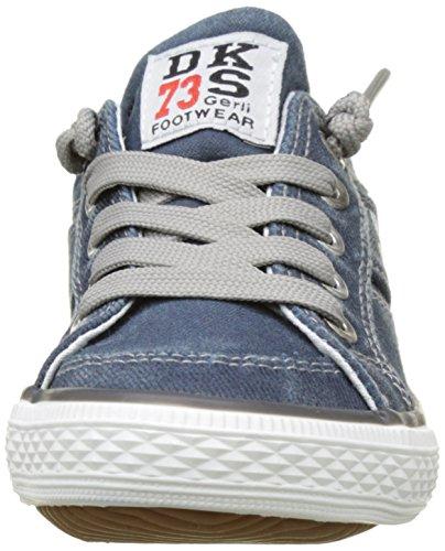 Dockers by Gerli 36vc606-790660, Baskets Basses Mixte Enfant Bleu (Navy)