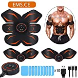 Best Ab Toner Belts - lovebay Abs Trainer, EMS Abdominal Muscle Stimulator,Abdominal Toning Review