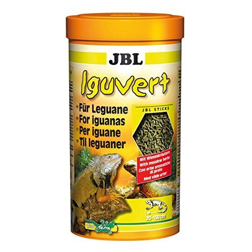 JBL Iguvert 70282 Hauptfutter für Leguane und pflanzenfressende Reptilien, 250 ml