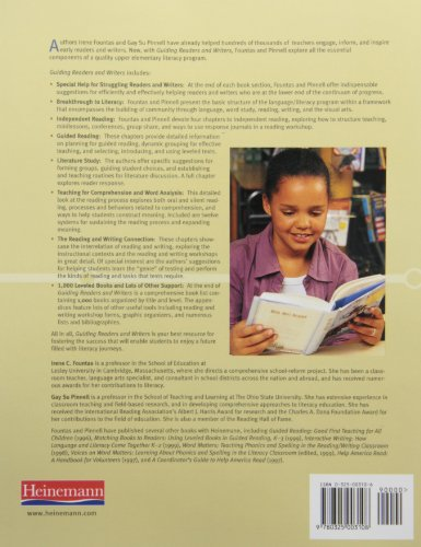 Guiding Readers and Writers: Teaching Comprehension, Genre, and Content Literacy (Fountas & Pinnell Professional Books and Multimedia)