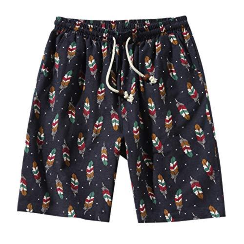 Mode Männer Geschnallt Goße Größe Strand Fit Sport Schnell Trocknend Lässig Shorts Hosen Zolimx