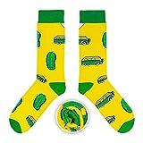 CUP OF SOX Baumwolle Lustige Socken in der Pappbecher - Perfekt als Geschenk für Männer und Frauen - Bulli/Bus/Samba (Gelb, 37-40)