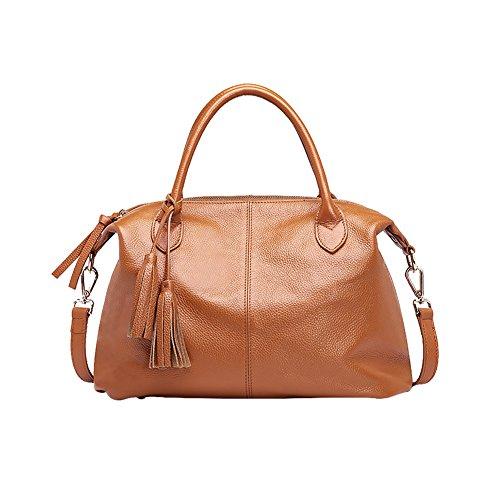 Mena UK-Lady sac multicolore option 2017 nouveau sac à main en cuir souple artificielle frangé sac de dame épaule / Messenger Bag