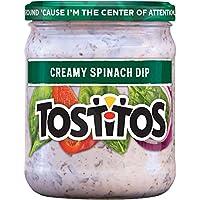 Fritolay Tostitos Creamy Spinach Dip, 425.2g