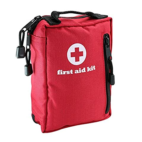 Pawaca Waterproof Medical First Aid Kit (88 Pieces), for Backpacking, Home, Car, Travel, Survival, Hiking, Camping, Hunting &