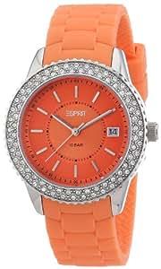 Esprit Damen-Armbanduhr marin glints Analog Quarz Silikon ES106212004