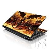 "LSS 17 17.3 Pollici Laptop Notebook Skin Cover adesiva Decal Adatta per 16.5"" 17"" 17.3"" 18.4"" 19"" HP Dell Apple Asus Acer Lenovo Asus Compaq (2 adesivi sotto polsi inclusi gartuitamente) Cross Grave"