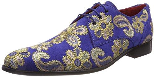 Melvin & Hamiltontoni 1 - Chaussures À Lacets Multicolores Pour Homme (daim / E-blue / Emb.