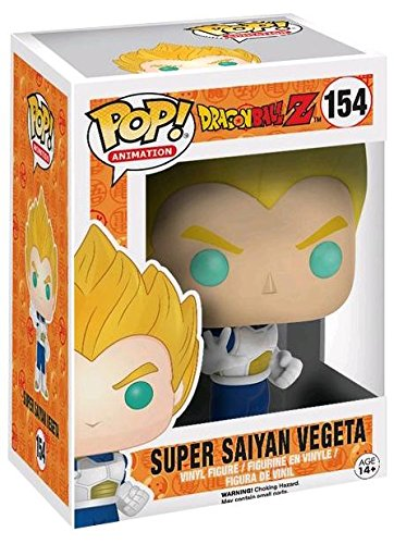 Funko Pop Vegeta Super Saiyan (Dragon Ball 154) Funko Pop Dragon Ball