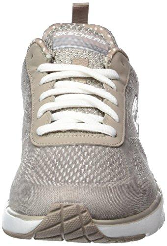 Skechers Air Infinity, Chaussures Multisport Outdoor Femme Beige (Tpe)