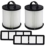 OxoxO Replace Eureka Compatible Filter DCF-21 & EF-6 Part 67821, 68931, 69963