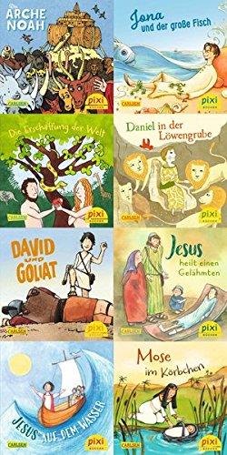 Geschichten aus der Bibel: 8 x 8 biblische Geschichten im Pixi-Format in einer Kassette (Bibel-kassette)