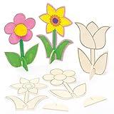 Mini Fleurs en bois que les enfants pour...