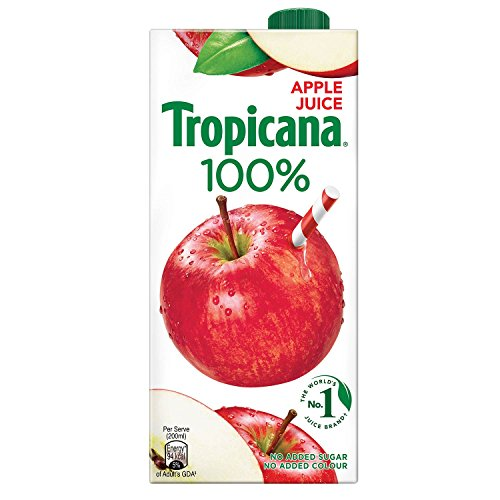 Tropicana Apple 100% Juice, 1L