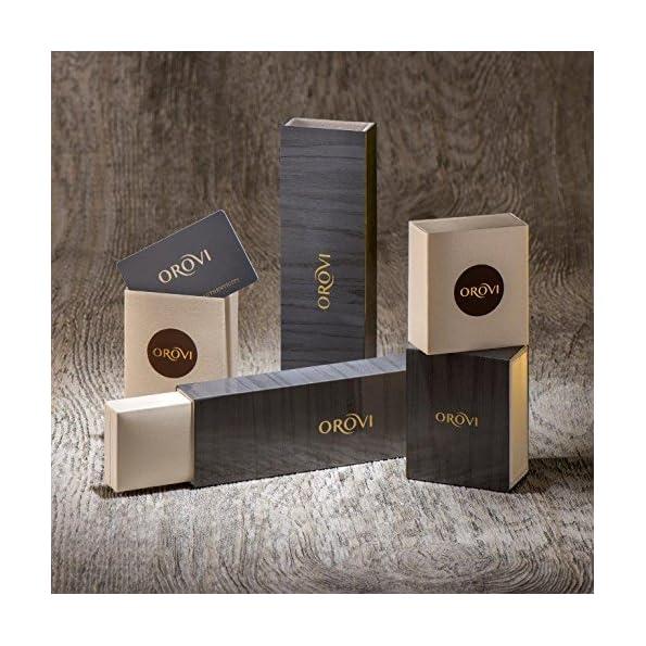 Orovi Damen Diamant Ohrringe Perlen Set Ohrstecker 14Karat Gold Gelbgold (585) Schmuck Brillianten 0.11crt