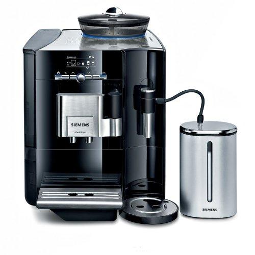 """Siemens EQ.7 Plus TE706519DE Macchina da caffè, valutazione Stiftung Warentest""""buono"""" (12/2010), colore: Nero pianoforte"""