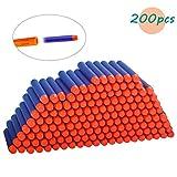 Thiroom 200 Pcs 7.2cm Foam Dart Refill Bullet for Nerf N-Strike Elite Series Blasters Spielzeugpistole (blau)