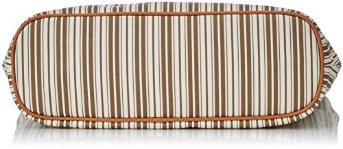 Timberland Damen Tb0m3150 Schultertasche, 11x37x30 cm Weiß (Coconut Shell)
