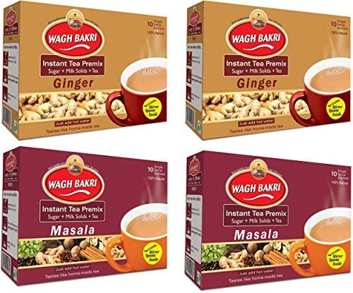 Wagh-Bakri-Instant-Tea-Premix-Ginger-and-Masala-Combo-Pack-140g-2-Units-Each