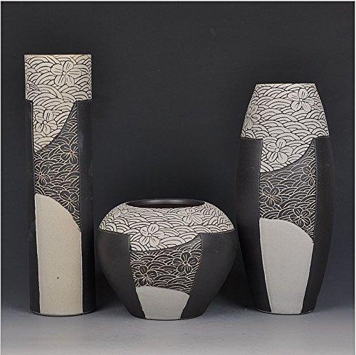 cach-ceramica-jarron-de-esmalte-de-tres-piezas-decoracion-del-hogar-artesania-clasica-artesanias-art