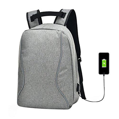Interface USB Externe De Sac à Dos Hommes Anti-vol De Loisirs De Grande Capacité Business