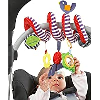 Ouken Baby culla culla carrozzina appeso sonagli spirale passeggino & seggiolino auto giocattolo