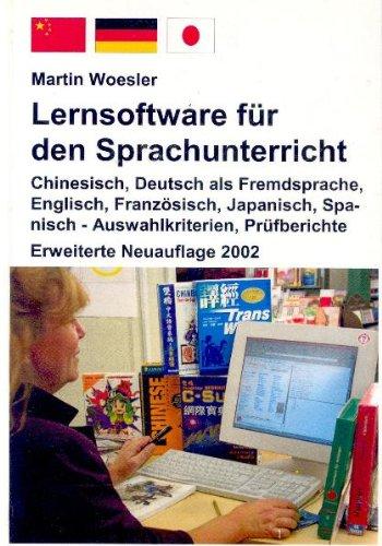 Lernsoftware für den Sprachenunterricht Chinesisch, Deutsch als Fremdsprache, Englisch,...