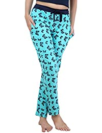 [Sponsored]Nite Flite Turquoise Butterfly Cotton Pyjamas For Women