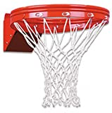 First Team Super-Duty Double Rim Flex Basketball Rim - 5 x 5 and 4 x 5 Mount by First Team