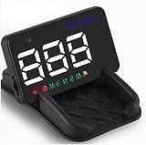2017Neue A5Kopf bis Display 8,9cm GPS Auto-Display Windschutzscheibe Projektor Tacho Overspeed Alarm Zwei Modell Display HUD mit Halter