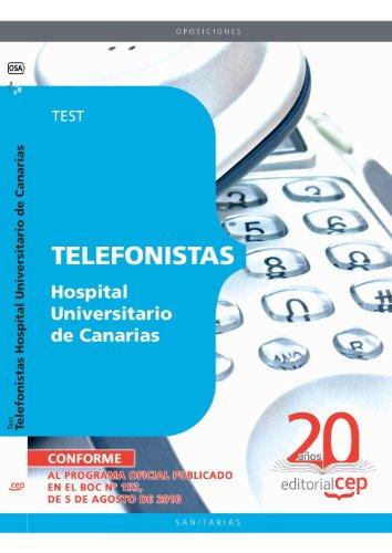 Telefonistas Hospital Universitario de Canarias. Test (Colección 1560) por Sin datos