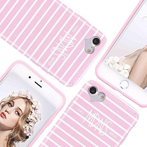 "iPhone 6 6S Hülle, Imikoko® iPhone 6 6S Rundumschutz Handy Hülle Schutzhülle Weich Silikon TPU Case Super Sweet Cute für Girl Frauen Mädchen(Rosa, 4.7"") Rosa"