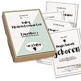 Baby-Meilensteinkarten LÖWENHERZ für Frühchen - Sue & Balou