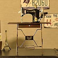 GFEI La pantalla de la ventana props _ antiguas maquinas de coser casa muebles adornos decoracion