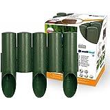 Jardin pelouse frontière bordure - effet bois bordures de pelouse 2,3 m, de couleur verte palissade