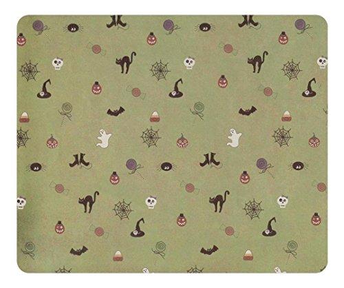 eo rutschfeste Spiel Mauspad Besondere Oberfläche strukturiert Mousepad Halloween Hintergrund Office Rutschfestes Mauspad strapazierfähiges Gaming Maus Pads (Halloween-office-spiele)